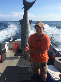 Barracuda fishing trip