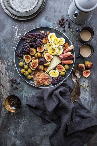 healthy whole food balanced meal