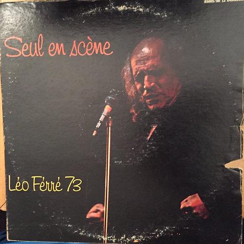 Léo Ferré Seul en scène 73 Album double
