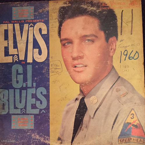 Elvis Presley ‎– G. I. Blues