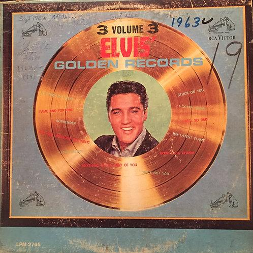 Elvis Presley – Elvis' Golden Records, Vol. 3