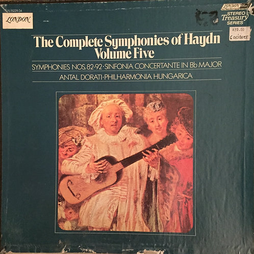 Josef Haydn – The Complete Symphonies Vol. 5