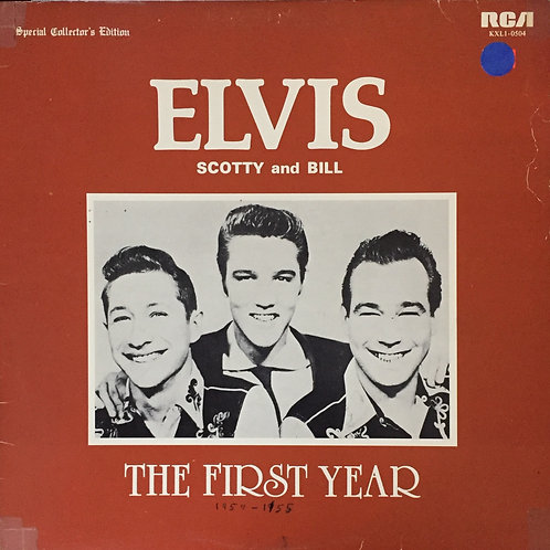 Elvis Scotty and Bill live The first year