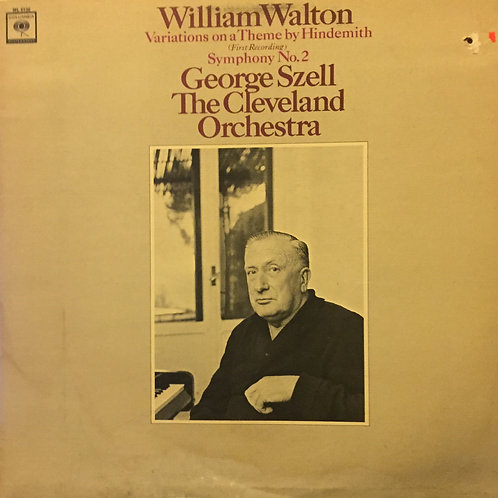 William Walton – Variations On A Theme By Hindemith / Symphony No. 2