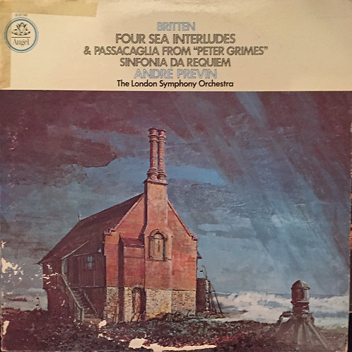 Britten - London Symphony Orchestra, Previn ‎– Four Sea Interludes Peter Grimes