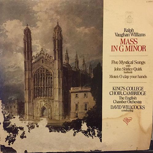 Vaughan Williams / David Willcocks, King's College Choir, Cambridge