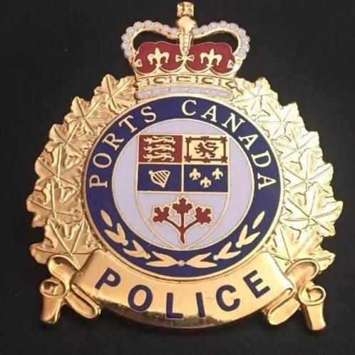 Très rare ancienne insigne de la police, Hauteur de 2'' 3/4