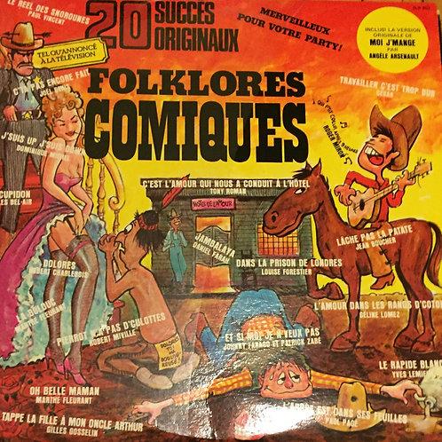 20 succès originaux Folklores Comiques