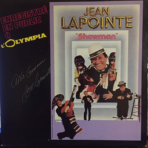 Jean Lapointe – Showman A L'Olympia