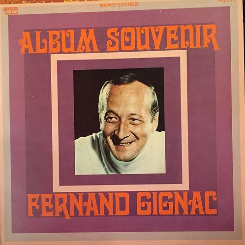 Fernand Gignac – Album Souvenir