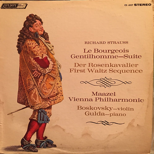Strauss, Maazel, Vienna Philharmonic – Le Bourgeois Gentilhomme - suite