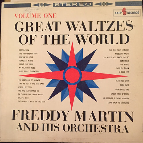 Freddy Martin And His Orchestra ‎– Great Waltzes Of The World Volume One