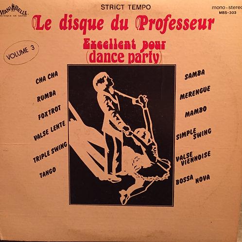 Compilation - Strict Tempo Vol.3 : Excellent Pour (Dance Party)