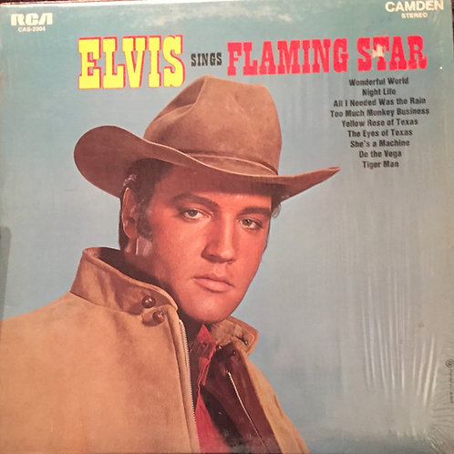 "Elvis Presley - Elvis Sings ""Flaming Star"""