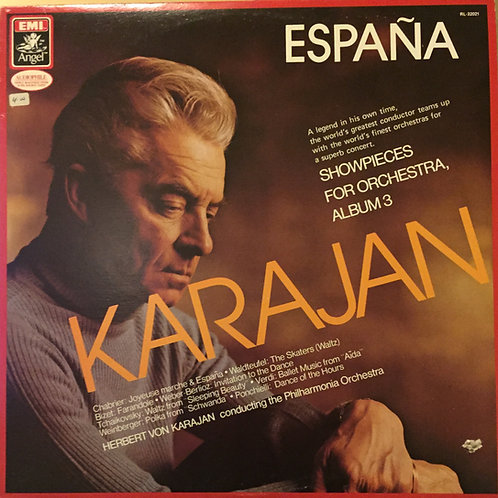Herbert von Karajan Conducting The Philharmonia Orchestra* – Showpieces For Or