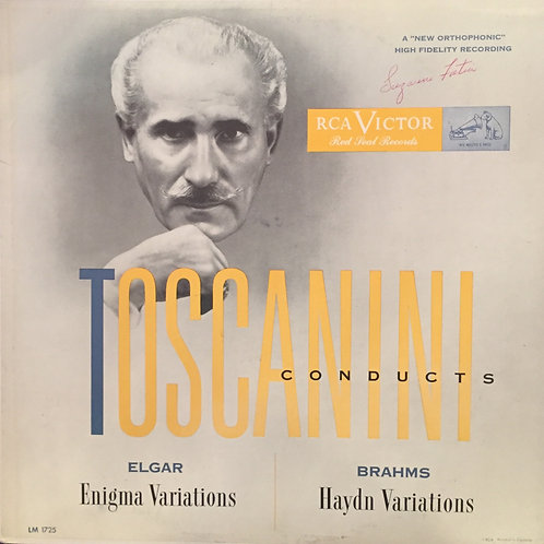 Elgar/Brahms – Arturo Toscanini And NBC Symphony Orchestra – Enigma