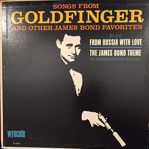 Trame sonore Goldfinger et autres James Bond favorits