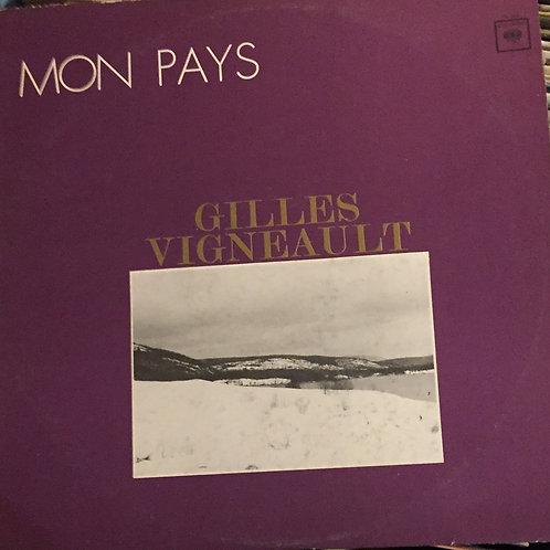 Gilles Vigneault mon pays