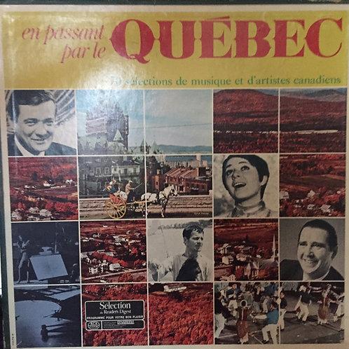 Compilation En passant par le Québec