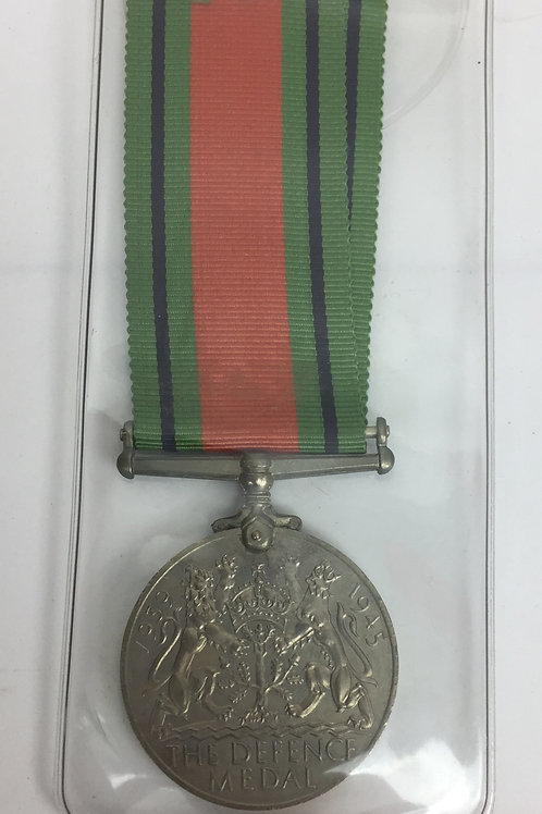 WWII Médaille de la défense britannique