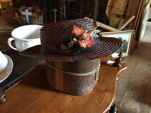 Chapeau de paille printemps