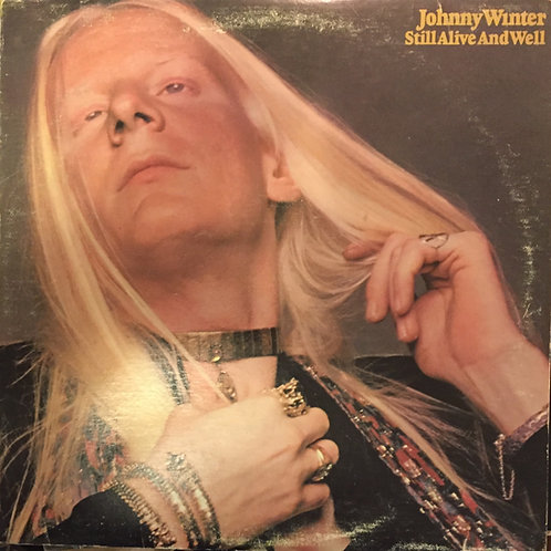 Johnny Winter Still alive and well