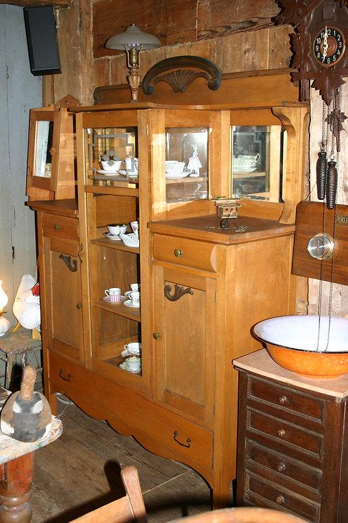 Buffet vitré avec tiroirs et panneaux