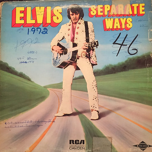 Elvis Presley ‎– Separate Ways