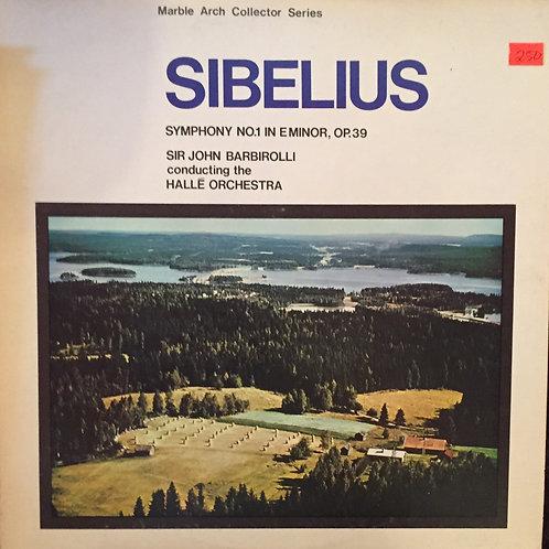 Sibelius* - Sir John Barbirolli Conducting The Hallé Orchestra – Symphony No.1
