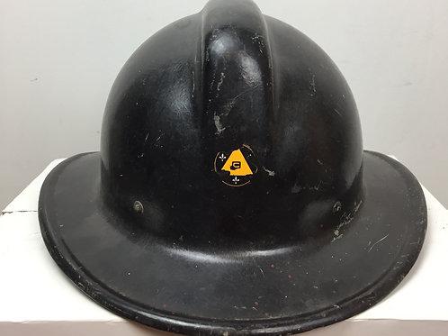 Rare Casque de pompier ''Chieftain''de la  Protection civile