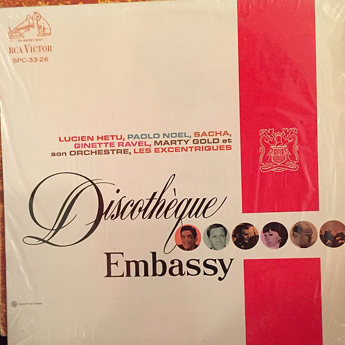 Compilation ‎– Discotheque Embassy
