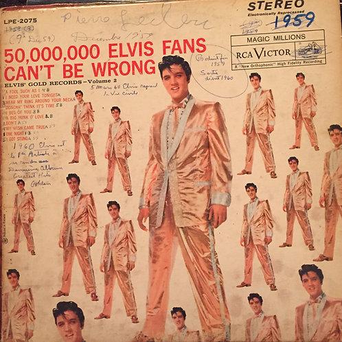 Elvis Presley – 50,000,000 Elvis Fans Can't Be Wrong Elvis' Gold Records, Vol2