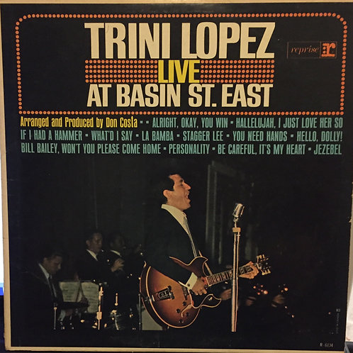 Trini Lopez – Live At Basin St. East