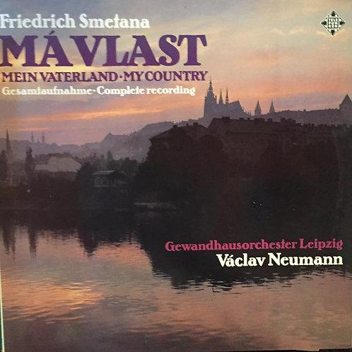 Friedrich Smetana Gewandhausorchester Leipzig, Václav Neumann – Mein Vaterland