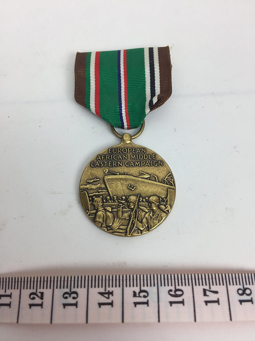 Médaille américaine pour service lors de la campagne Europe-Afrique-Moyen Orient