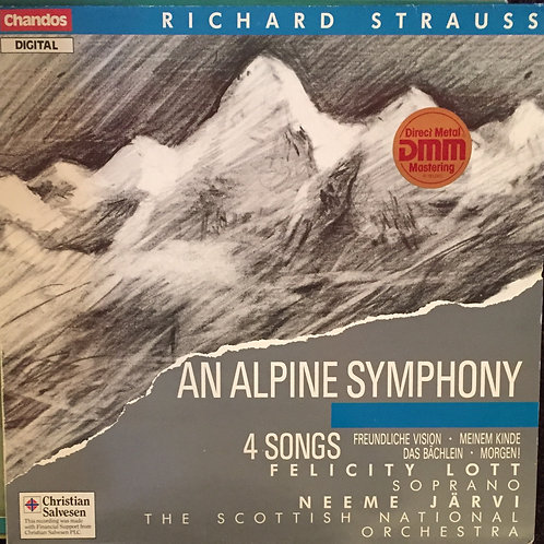 Richard Strauss, Royal Scottish National Orchestra, Järvi ‎– Alpine Symphony