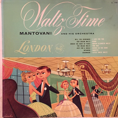 Mantovani And His Orchestra – Waltz Time