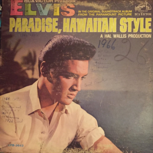 Elvis Presley – Paradise, Hawaiian Style