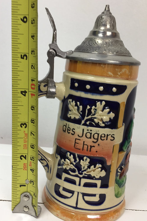 Intéressante et authentique Chope allemande Jägers Ehr