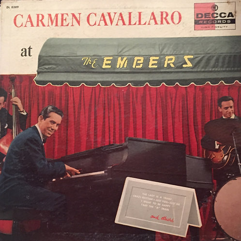 Carmen Cavallaro ‎– At The Embers