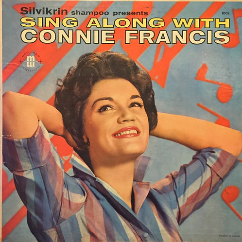 Connie Francis ‎– Sing Along With Connie Francis