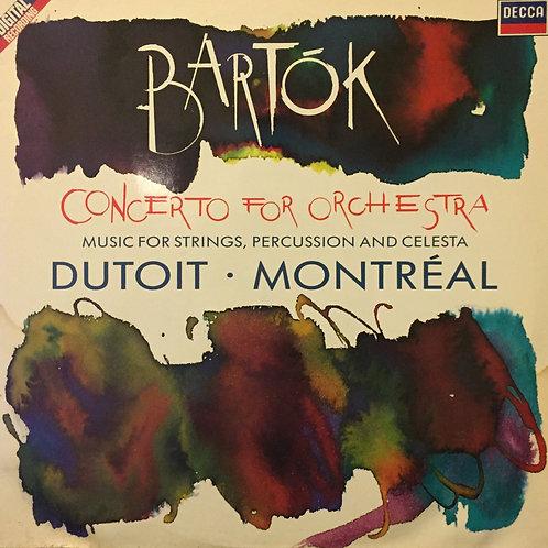 Charles Dutoit Bartok concerto for orchestra Montréal