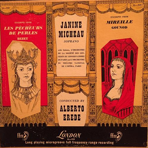 Georges Bizet, Janine Micheau – Excerpts From Les Pecheurs De Perles