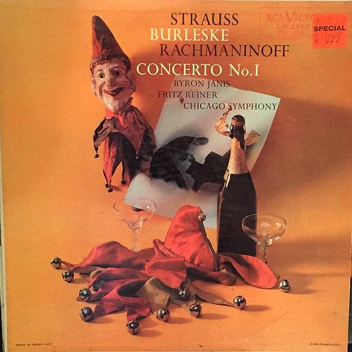 Sergei Vasilyevich Rachmaninoff Byron Janis Fritz Reiner The Chicago Symphony