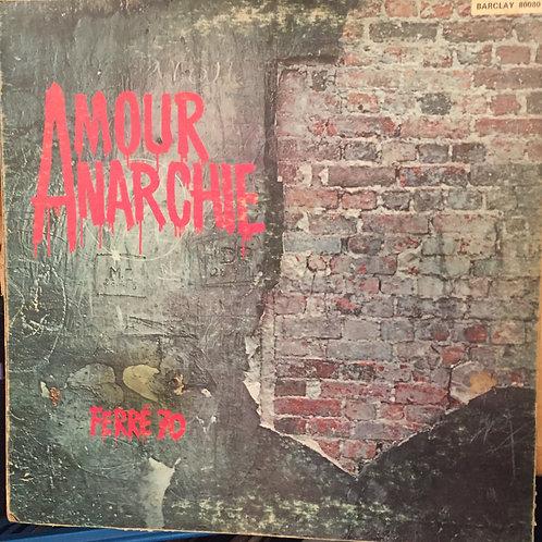 Léo Ferré Amour Anarchie