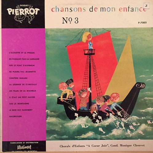 """Chorale d'Enfants """"À Coeur Joie""""* – Chansons De Mon Enfance, No.1"""