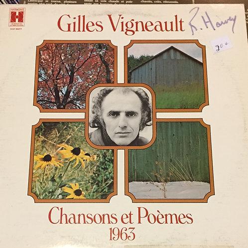 Gilles Vigneault – Chansons Et Poèmes 1963