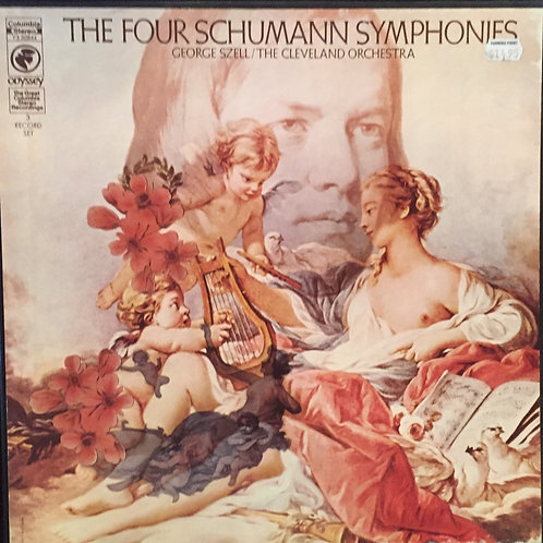 George Szell / The Cleveland Orchestra – The Four Schumann Symphonies