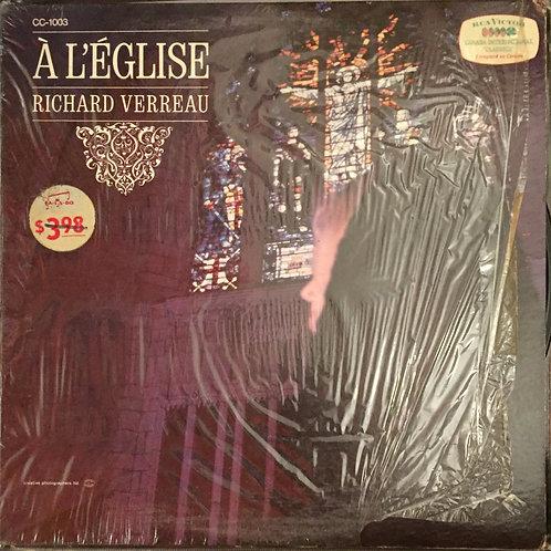 Richard Verreau – À L'Église