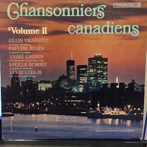 Chansonniers Canadiens Volume II